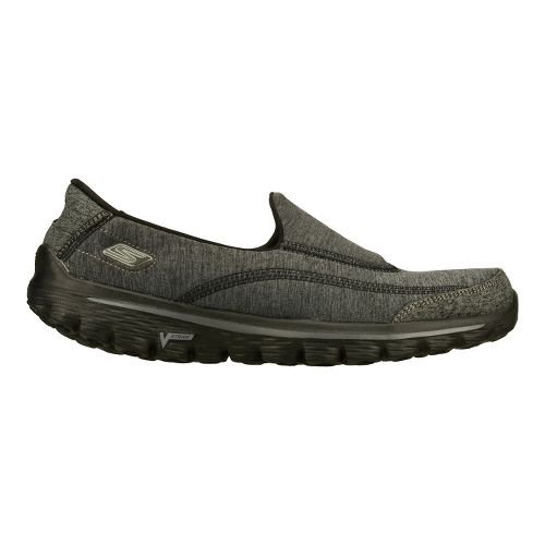 Womens Skechers GO Walk 2 - Circuit Walking Shoe - Black 8.5