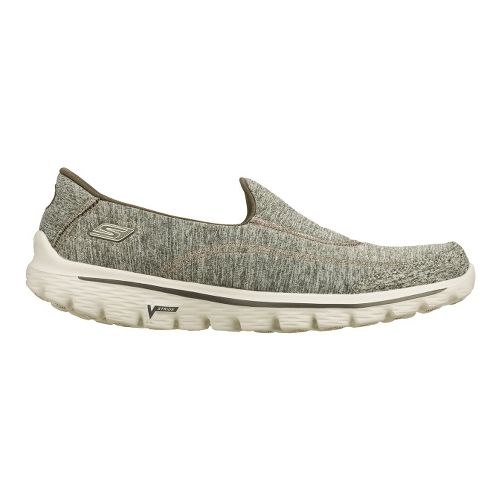 Womens Skechers GO Walk 2 - Circuit Walking Shoe - Grey 6