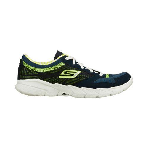 Womens Skechers GO Fit - Workout Craze Running Shoe - Navy/Lime 6.5