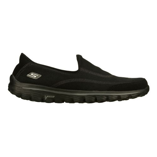 Womens Skechers GO Walk 2 - Fresco Walking Shoe - Black 5.5