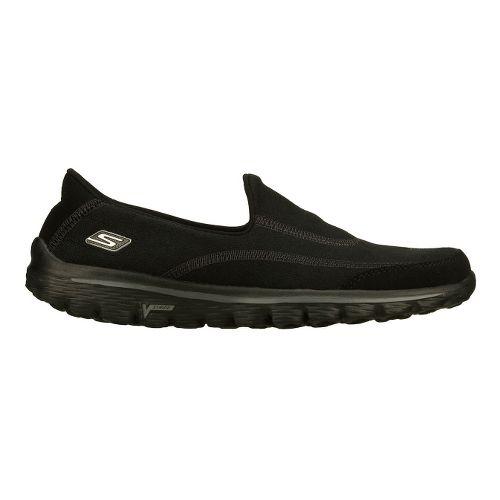 Womens Skechers GO Walk 2 - Fresco Walking Shoe - Black 8.5