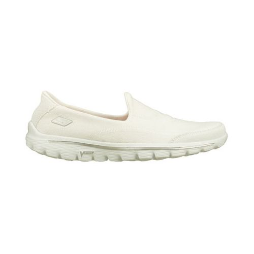 Womens Skechers GO Walk 2 - Fresco Walking Shoe - White 5.5