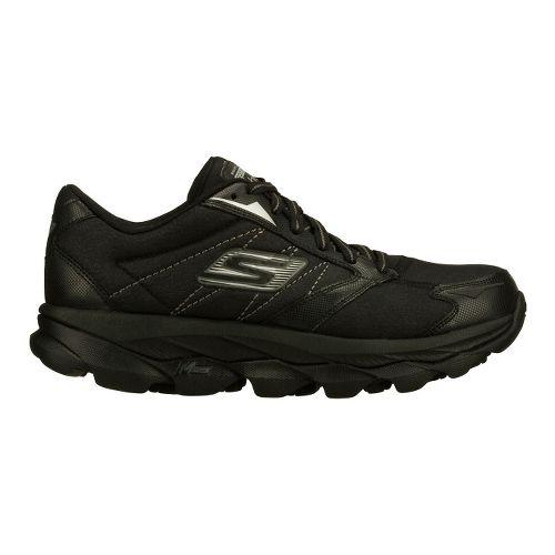 Womens Skechers GO Run Ultra LT Running Shoe - Black 6.5