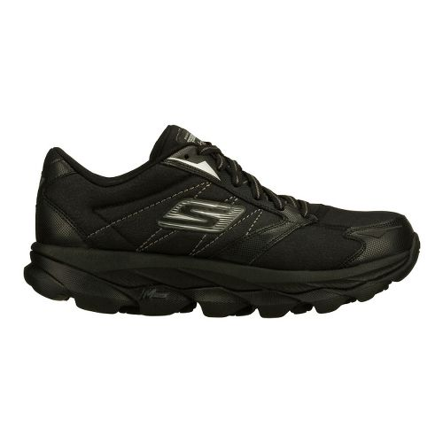 Womens Skechers GO Run Ultra LT Running Shoe - Black 9.5