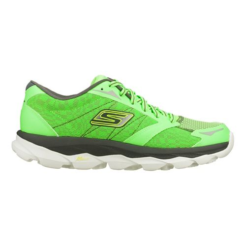Mens Skechers GO Run Ultra - Nite Owl 2.0 Running Shoe - Green 10.5