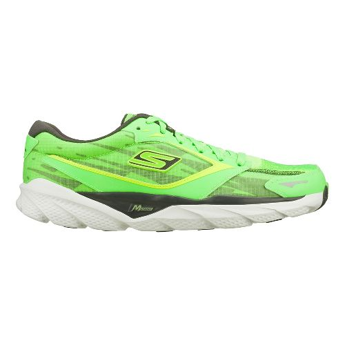 Mens Skechers GO Run Ride 3 - Nite Owl 2.0 Running Shoe - Greige 11 ...