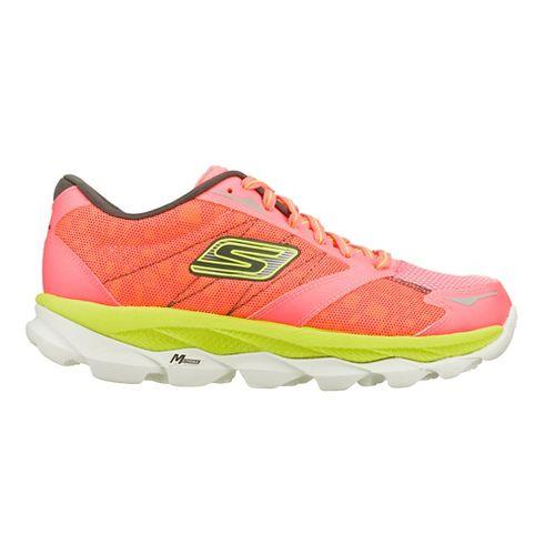 Womens Skechers GO Run Ultra - Nite Owl 2.0 Running Shoe - Hot Pink/Lime 10 ...