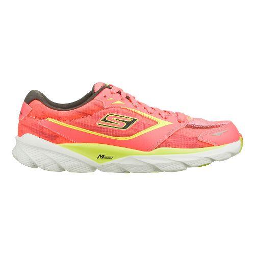 Womens Skechers GO Run Ride - Nite Owl 2.0 Running Shoe - Hot Pink/Lime 9.5 ...
