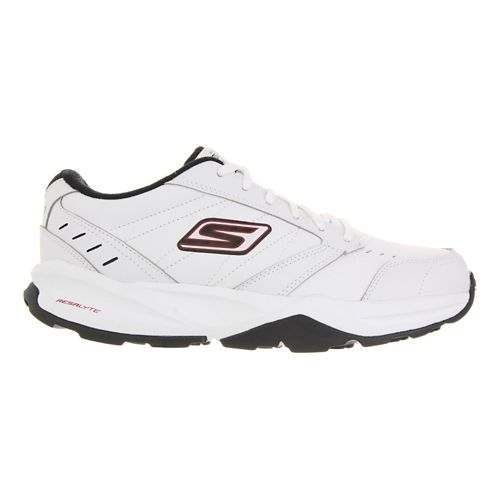 Mens Skechers GO Train - ACE Cross Training Shoe - White/Black 6.5