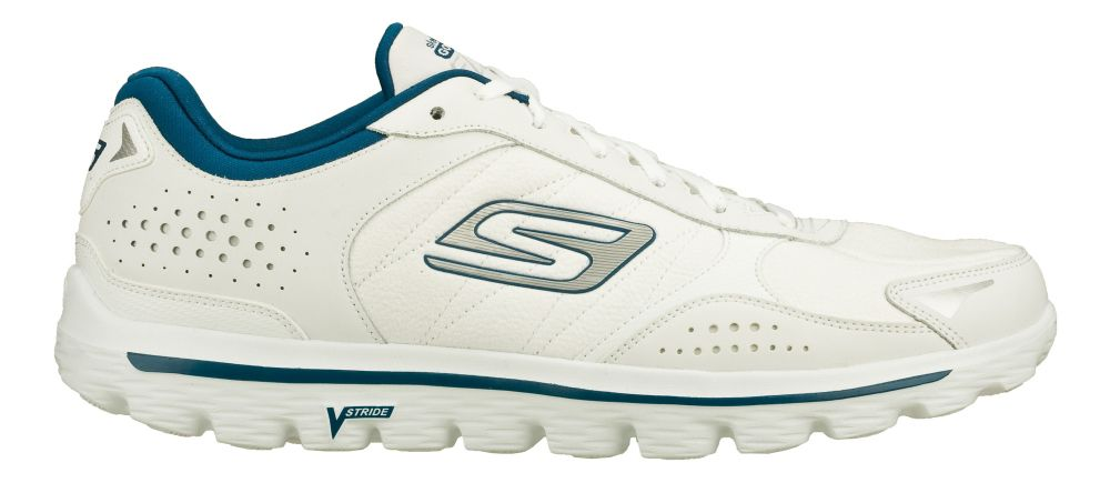mens skechers go walk 2 flash leather tex athletic
