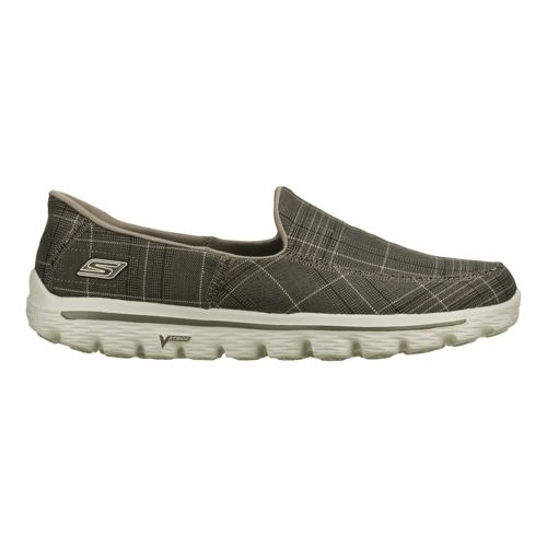 Mens Skechers GO Walk 2 - Maine Walking Shoe - Charcoal 9