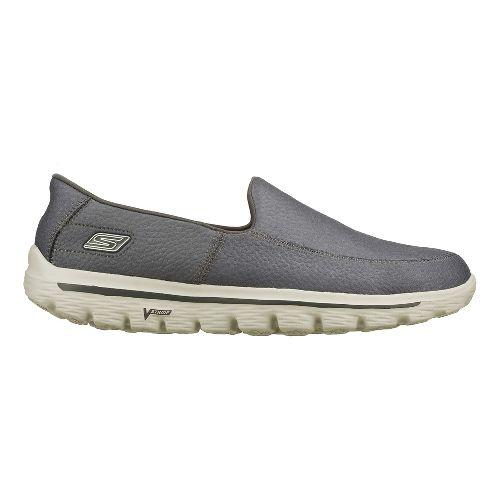 Mens Skechers GO Walk 2 - Coast Walking Shoe - Charcoal 12.5