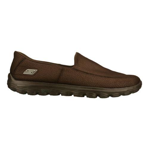 Mens Skechers GO Walk 2 - Coast Walking Shoe - Chocolate 12.5