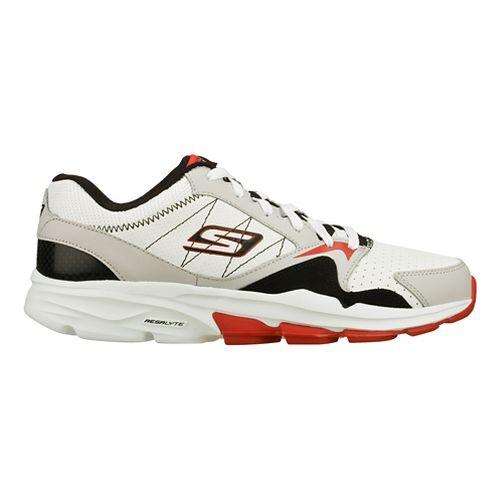 Mens Skechers GO Train - Supreme Cross Training Shoe - White/Black 9.5