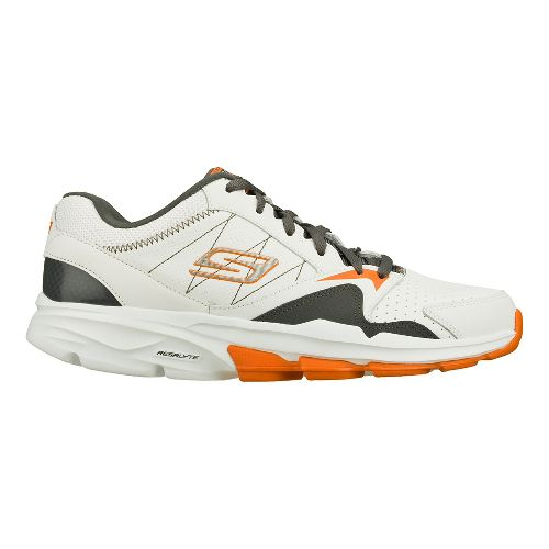 Mens Skechers GO Train - Supreme Cross Training Shoe - White/Charcoal 8