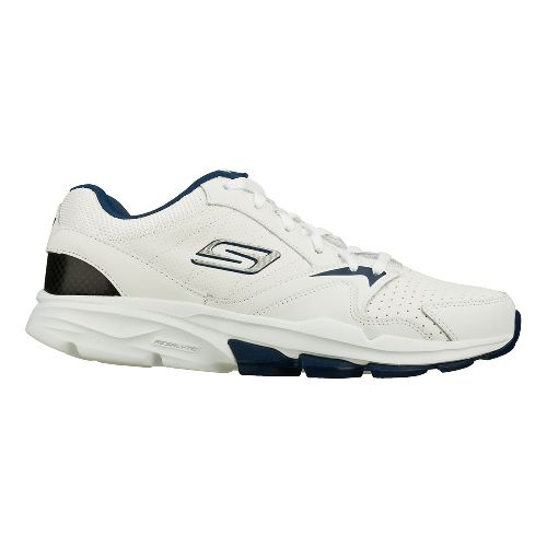 Mens Skechers GO Train - Supreme Cross Training Shoe - White/Navy 12