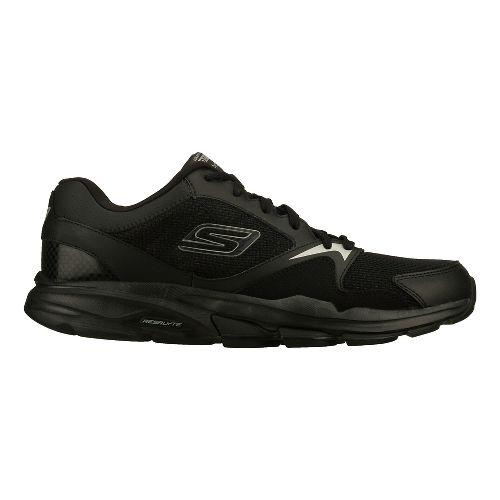 Mens Skechers GO Train - Supreme X Cross Training Shoe - Black 10.5