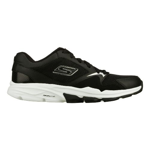 Mens Skechers GO Train - Supreme X Cross Training Shoe - Black/White 10