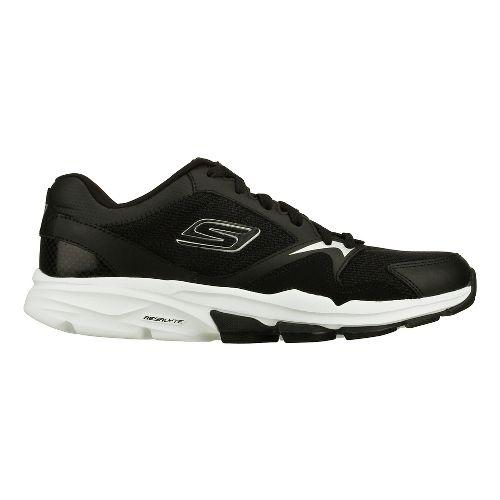 Mens Skechers GO Train - Supreme X Cross Training Shoe - Black/White 10.5