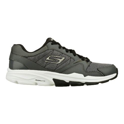 Mens Skechers GO Train - Supreme X Cross Training Shoe - Charcoal/Black 6.5