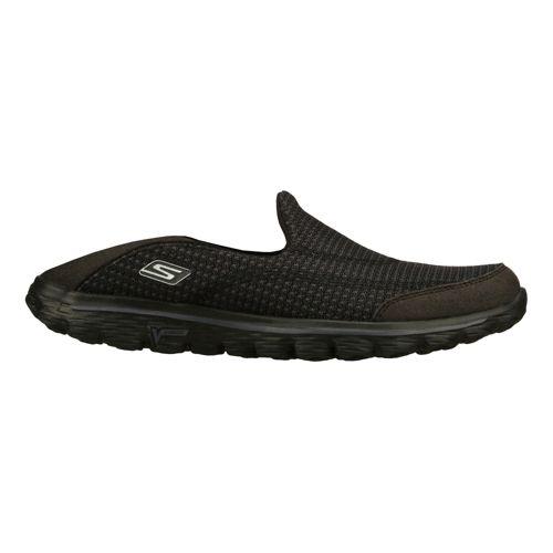 Womens Skechers GO Walk 2 - Convertible Walking Shoe - Black 7.5