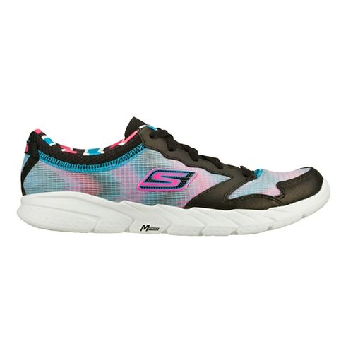 Womens Skechers GO Fit - Tempo Cross Training Shoe - Black/Turquoise 10