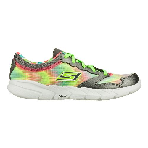 Womens Skechers GO Fit - Tempo Cross Training Shoe - Charcoal/Green 5.5