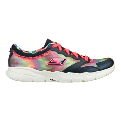 Womens Skechers GO Fit - Tempo Cross Training Shoe - Navy/Hot Pink 5