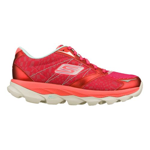 Mens Skechers GO Run Ultra - Ease Running Shoe - Raspberry 6