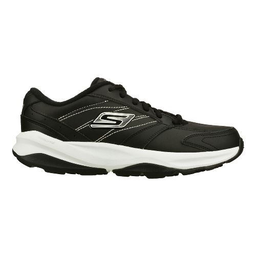 Womens Skechers GO Fit - ACE Cross Training Shoe - Black/White 8