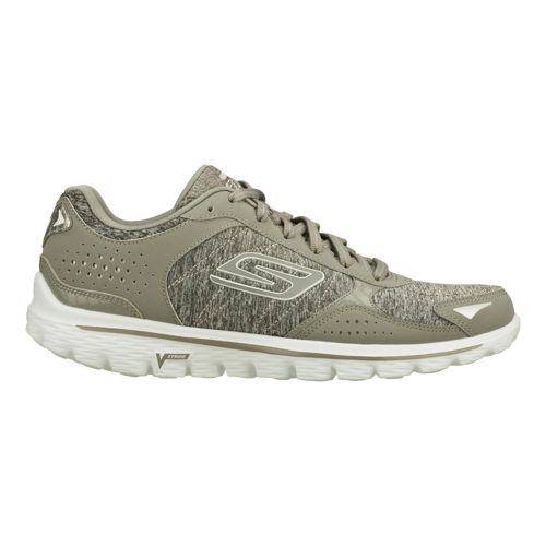 Womens Skechers GO Walk 2 - Flash Gym Walking Shoe - Grey 5