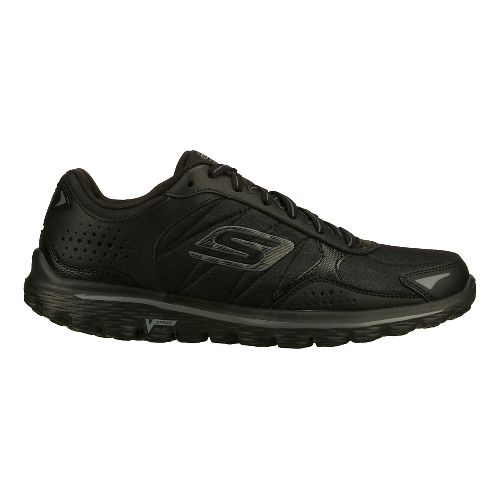 Womens Skechers GO Walk 2 - Flash - LT Walking Shoe - Black 8.5