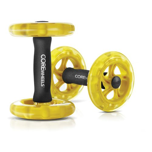 SKLZ Core Wheels Fitness Equipment - Yellow/Black