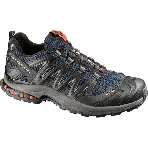 Mens Salomon XA Pro 3D Ultra 2 Trail Running Shoe - Navy/Black 10.5