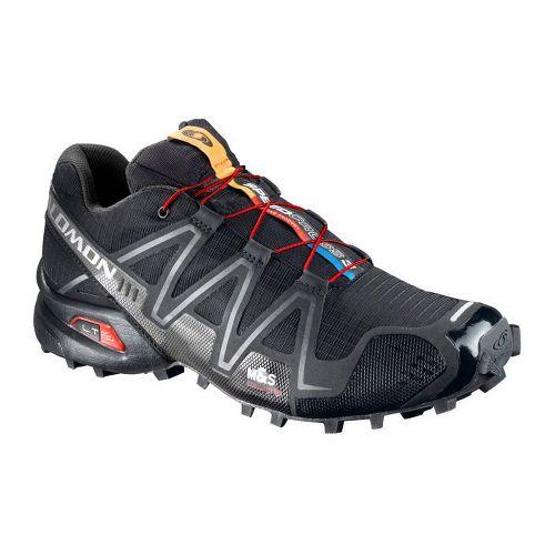 Mens Salomon Speedcross 3 Trail Running Shoe - Black 11.5