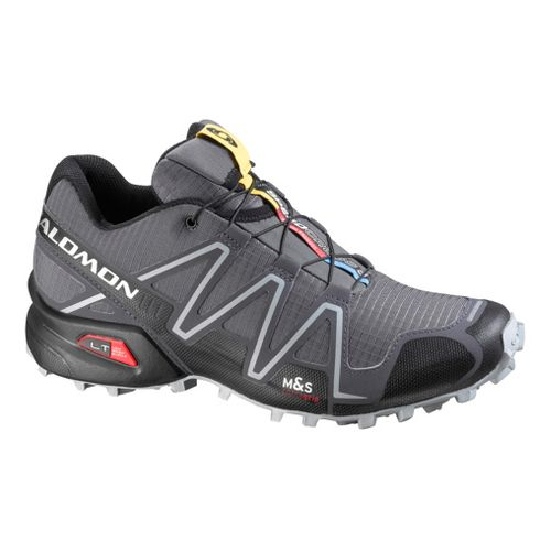 Mens Salomon Speedcross 3 Trail Running Shoe - Grey 8.5