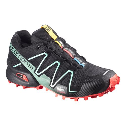 Womens Salomon Speedcross 3 Trail Running Shoe - Nectarine 10