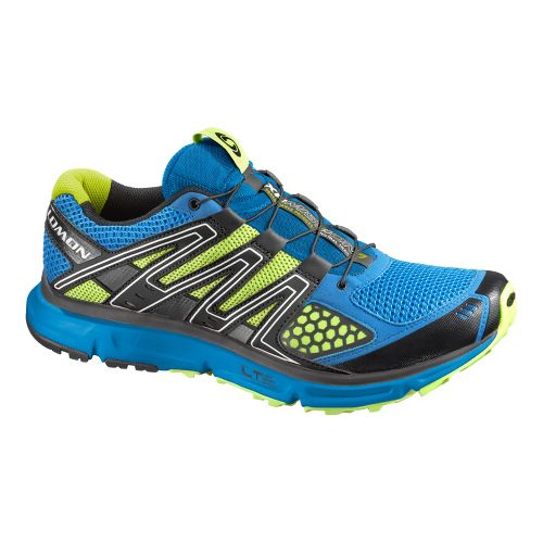 Mens Salomon XR Mission Trail Running Shoe - Blue 8
