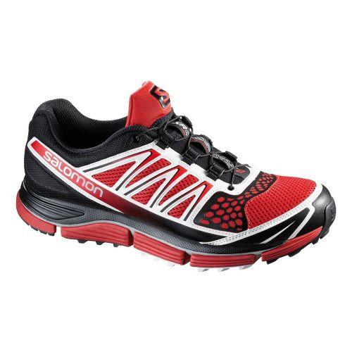 Mens Salomon XR Crossmax 2 Trail Running Shoe - Red 8.5
