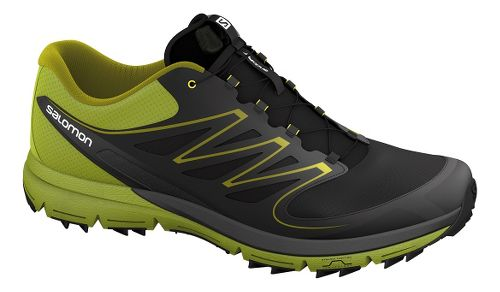 Salomon Sense Mantra Trail Running Shoe - Black/Green 8