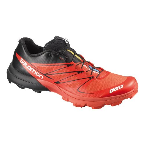 Salomon S-Lab Sense 3 Ultra SG Trail Running Shoe - Red/Black 9