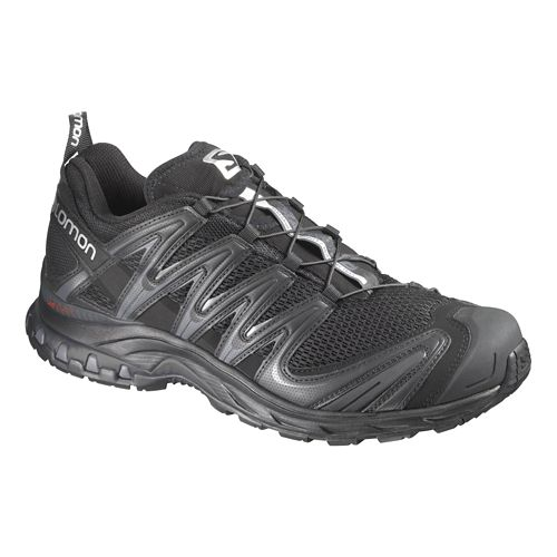 Mens Salomon XA Pro 3D Trail Running Shoe - Black/Black 10