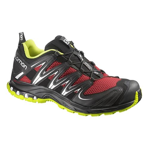 Mens Salomon XA Pro 3D Trail Running Shoe - Black/Quick 14