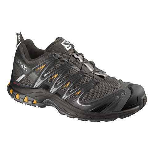 Mens Salomon XA Pro 3D Trail Running Shoe - Grey/Black 7