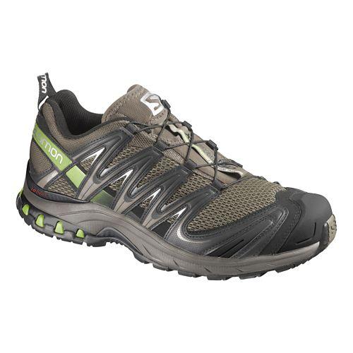 Mens Salomon XA Pro 3D Trail Running Shoe - Olive/Grey 8