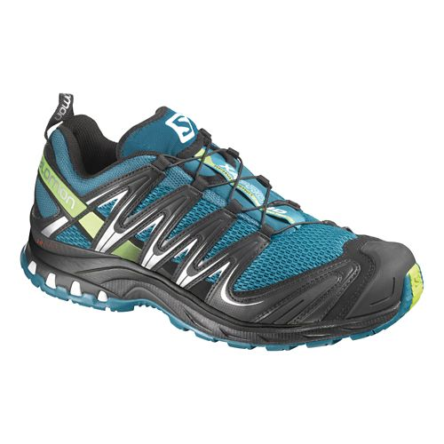 Mens Salomon XA Pro 3D Trail Running Shoe - Blue/Black 7