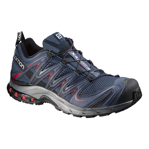 Mens Salomon XA Pro 3D Trail Running Shoe - Black/Black 14