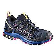 Womens Salomon XA Pro 3D Trail Running Shoe - Medieval Blue 6.5