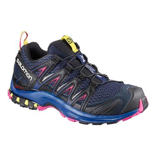 Womens Salomon XA Pro 3D Trail Running Shoe - Medieval Blue 9