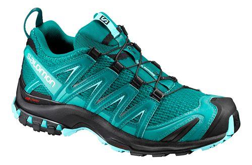 Womens Salomon XA Pro 3D Trail Running Shoe - Blue/Black 7.5